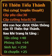 Chỉ số pet Tề Thiên Tiểu Thánh gunbao