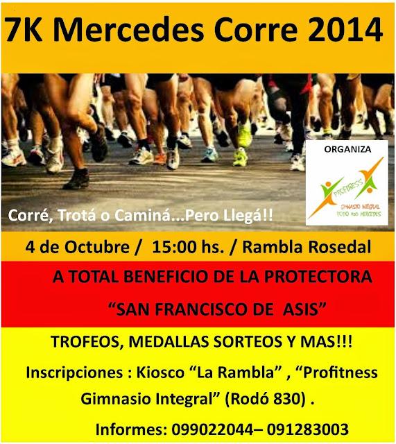 7k Mercedes corre (Soriano, 04/oct/2014)