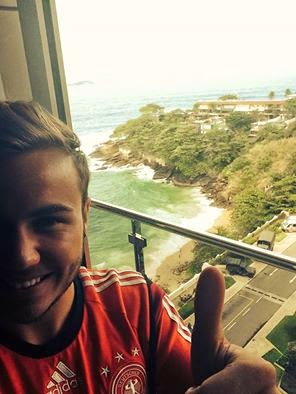 Profil Mario Gotze pencetak Gol Jerman lawan Argentina