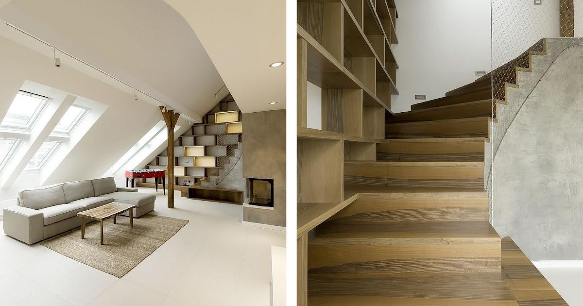 Loft redondeado muebles y revestimientos de madera for Loft muebles