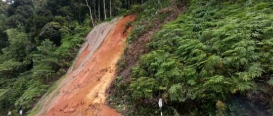 tanah runtuh di km 122 genting highlands asraff ruslan tanah runtuh di km 122 genting highlands 540x230