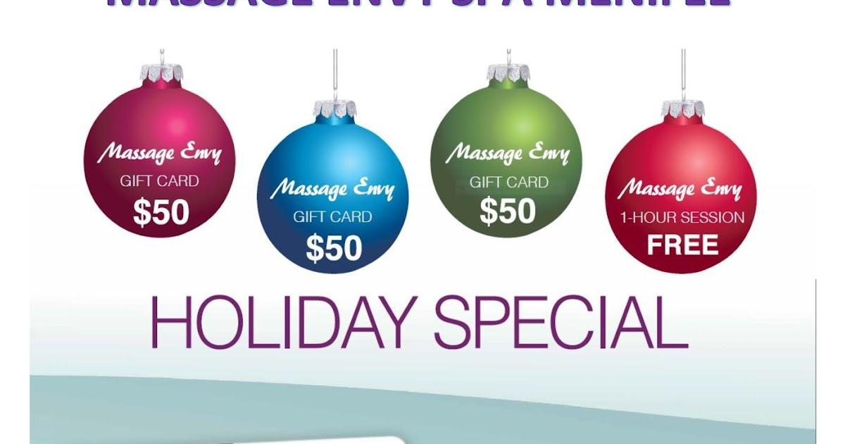 Holiday Gift Card Special at Massage Envy Spa Menifee | Menifee 24/7