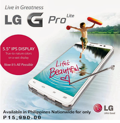 LG G Pro Lite Specs and Price