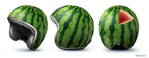 10-Water-Melon-Motorcycle-Helmets-Good