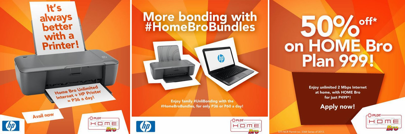 PLDT Home Bro Bundles