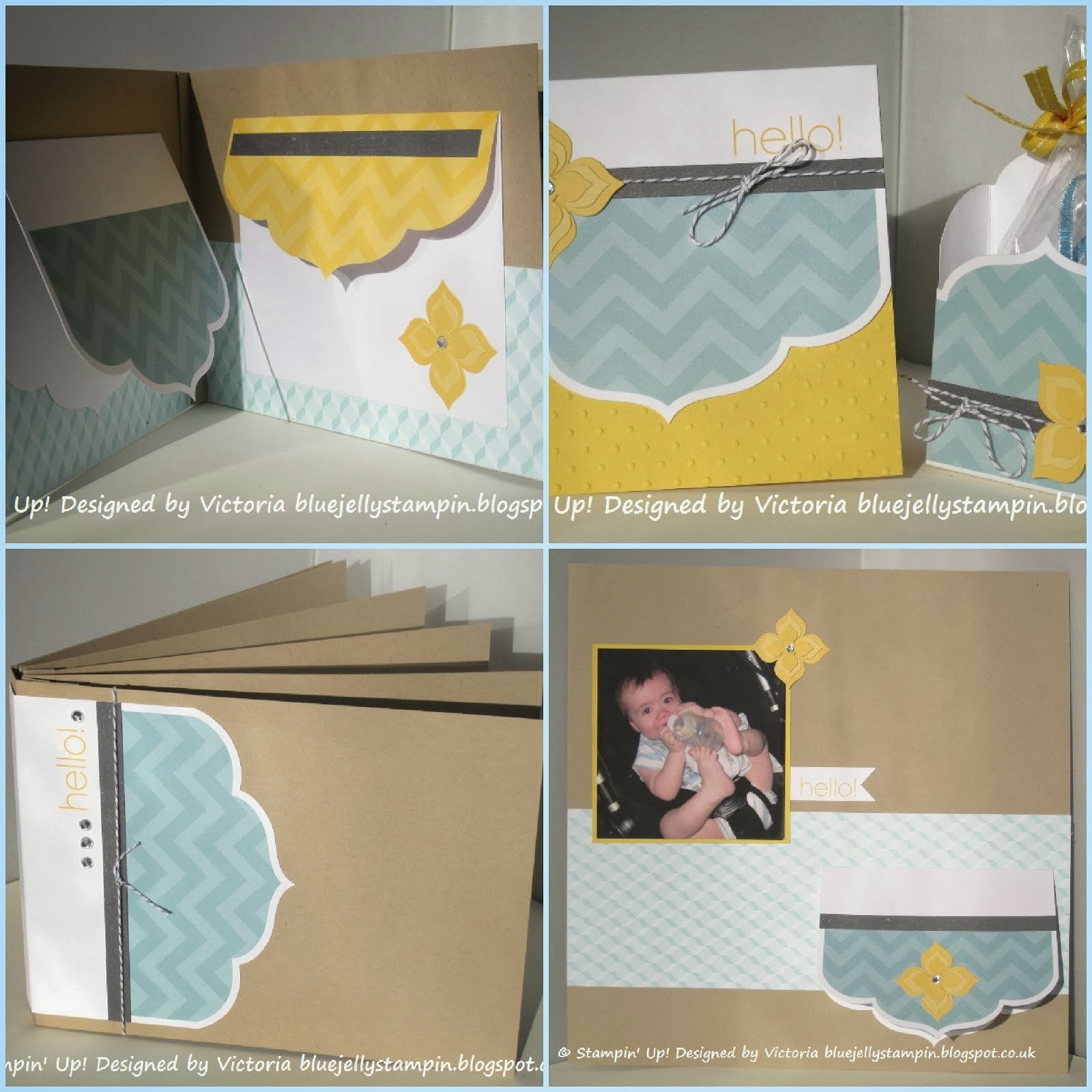 Stampin' Up! Happy Hello Mini Album Tutorial