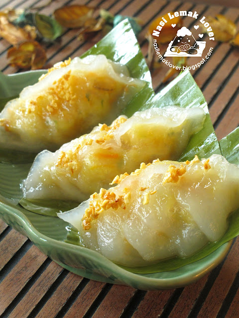 Nasi Lemak Lover: Steamed vegetable dumplings (Chai Kueh) 菜粿