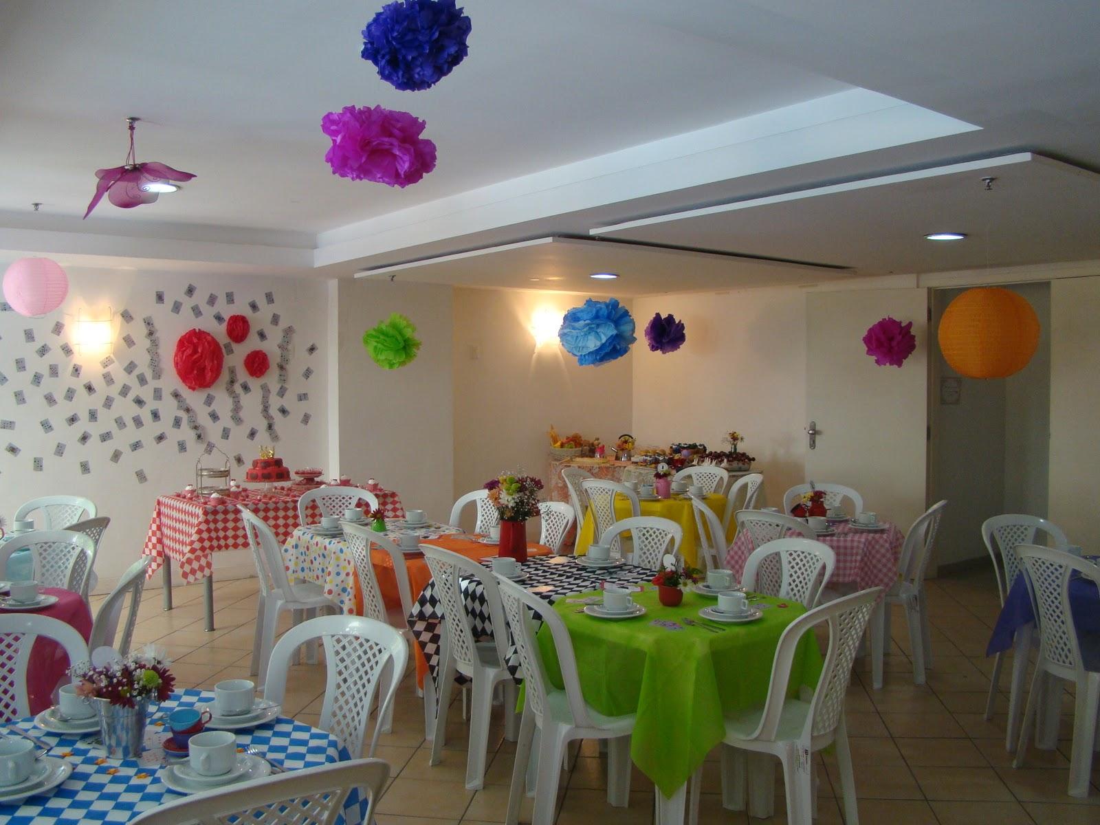 decoracao festa simples:Woncakes – Doces Fantásticos!: Dicas de Decoração – Chá de Alice