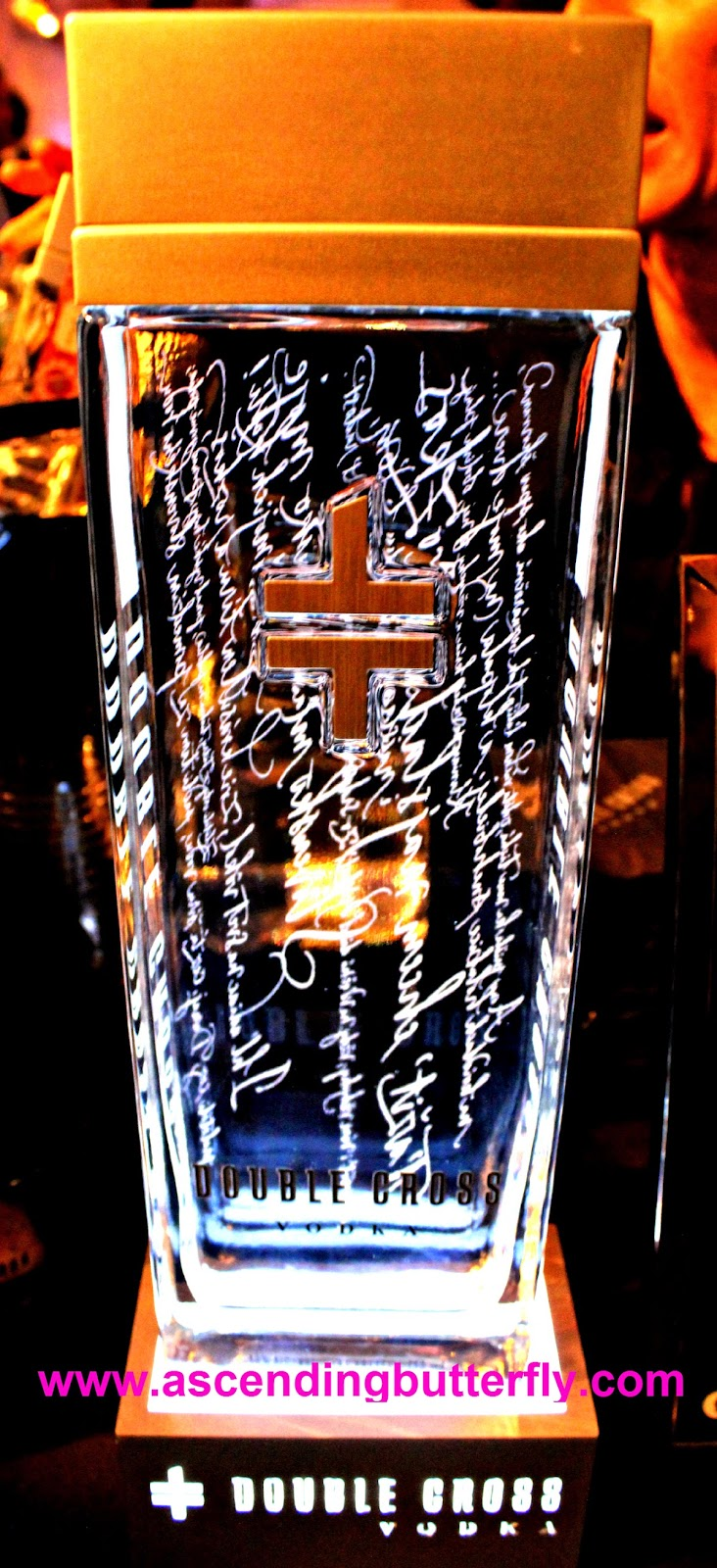 Double Cross Vodka at The Luxury Review in New York City 2014, spirits, Vodka