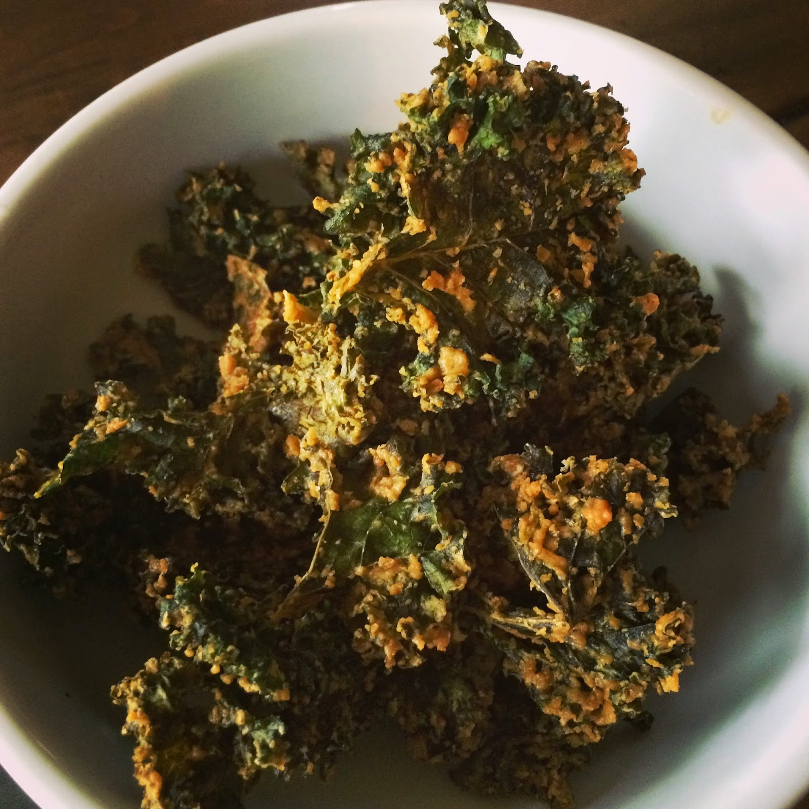 nut-free vegan kale chips