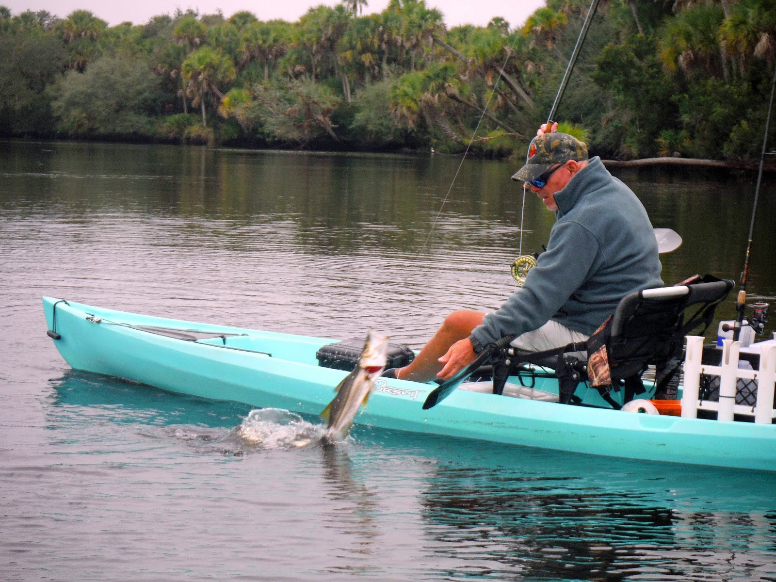 Southern kayak kronicles fly fishing is simple and for Most stable fishing kayak