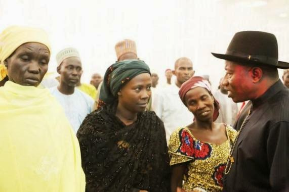 jonathan chibok girl election