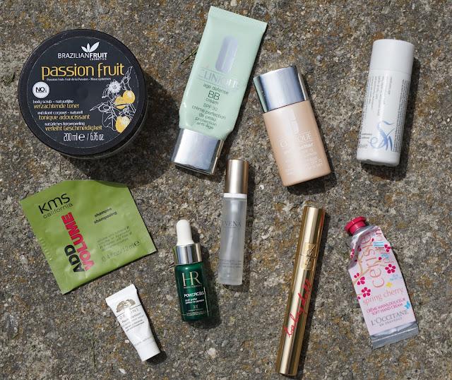 Aufgebrauchte Kosmetik - Mai 2015 YSL, Clinique, Helena Rubinstein, Origins, Juvena