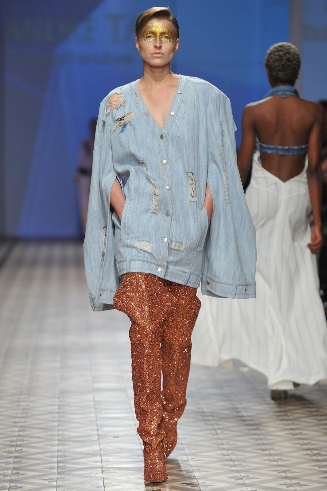 Andre kim fashion show 87