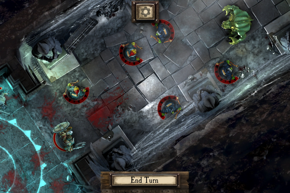 Warhammer Quest iOS review river troll