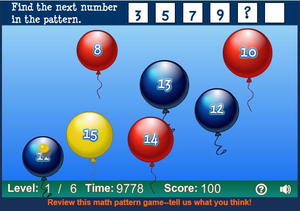 http://www.sheppardsoftware.com/mathgames/earlymath/BalloonPopPatterns.htm