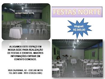 ASSOCIAÇÃO NORTE, TRABALHANDO PARA BEM SERVIR !!