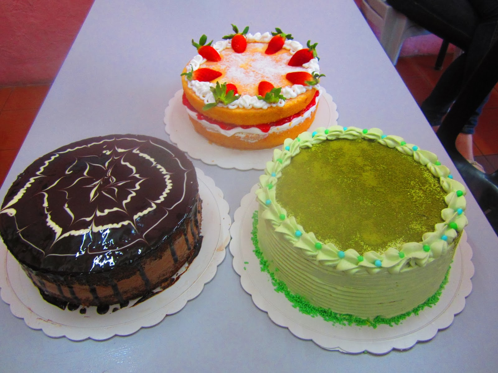 Pg cakecraft one recipe 3 types of cakes class on 14th for Different types of cakes recipes with pictures
