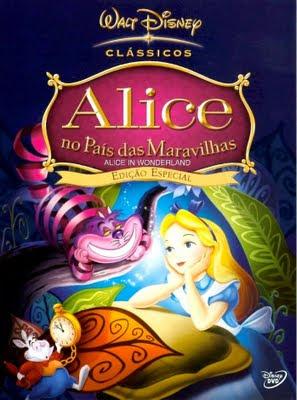 Capa - Alice no País das Maravilhas