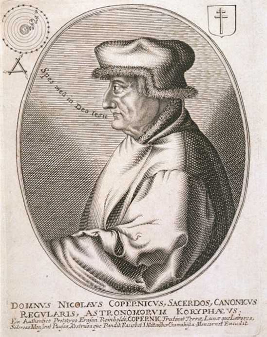 Portrait of Copernicus from Erasmus Reinhold's Collection