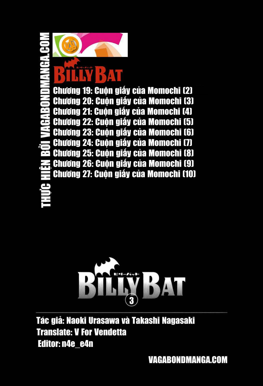 Billy Bat Chương 27