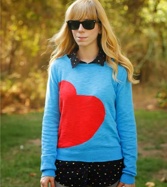 Heart print / estampado de corazones