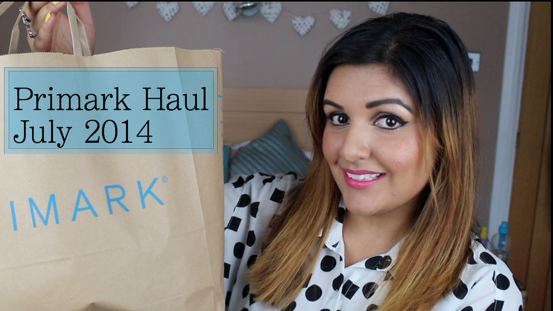 Video: Primark Haul July 2014