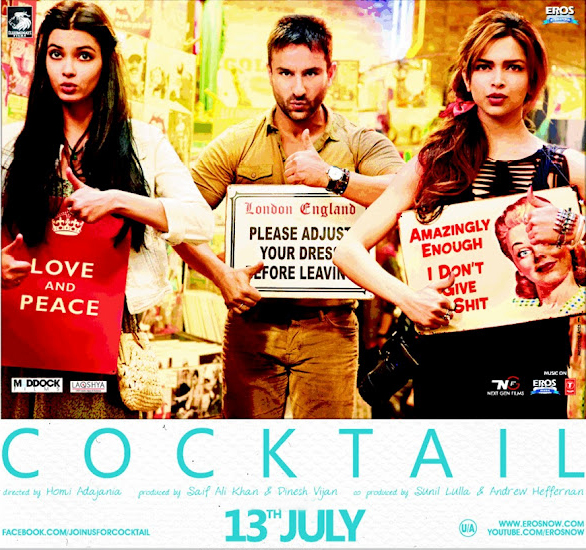 Cocktail Hindi Full Movie Watch Online - Todaypk Movies