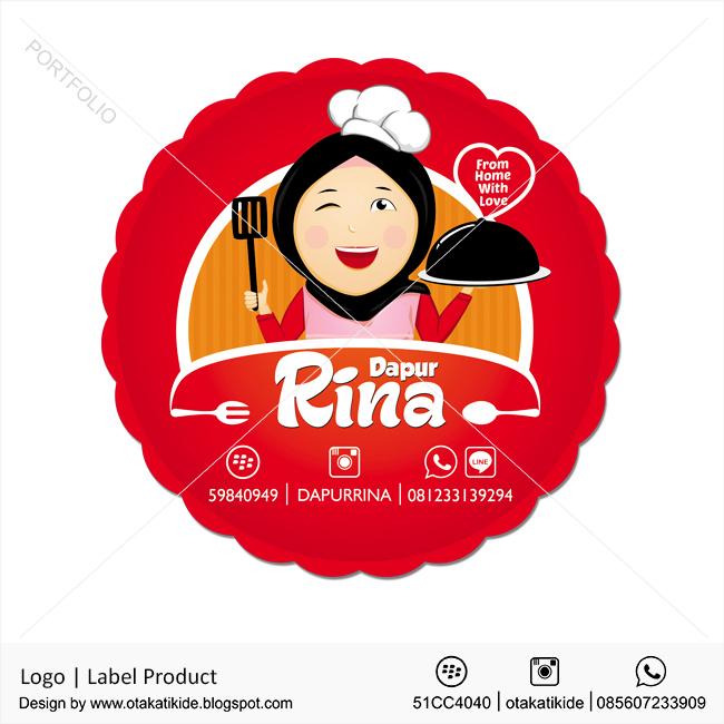 Logo Dapur Rina