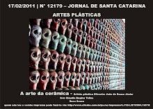 clic e acesse A Arte Cerâmica de Silvestre no Jornal Santa