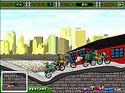 Ninja rùa đua xe, chơi game dua xe hay tại gamevui.biz