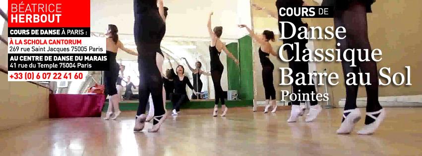 Béatrice Herbout : Professeur de danse classique