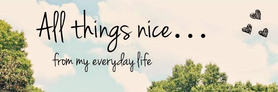 All things nice...