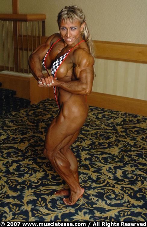 Maria Segura Female Muscle Bodybuilding Muscletease Flex