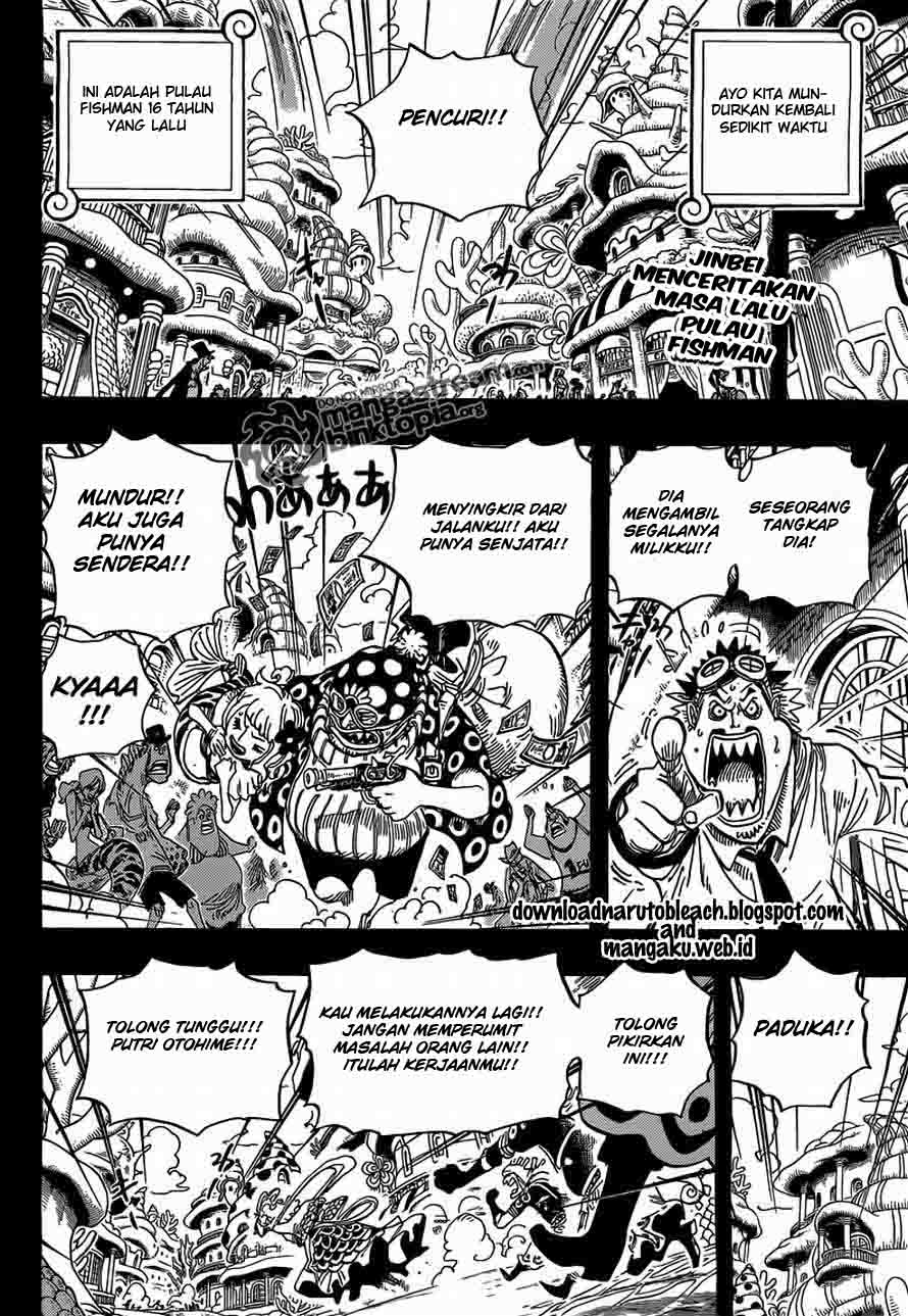 02 One Piece 621   Otohime dan Tiger