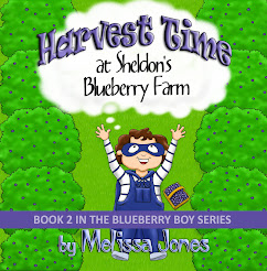 """Harvest Time at Sheldon's Blueberry Farm"""
