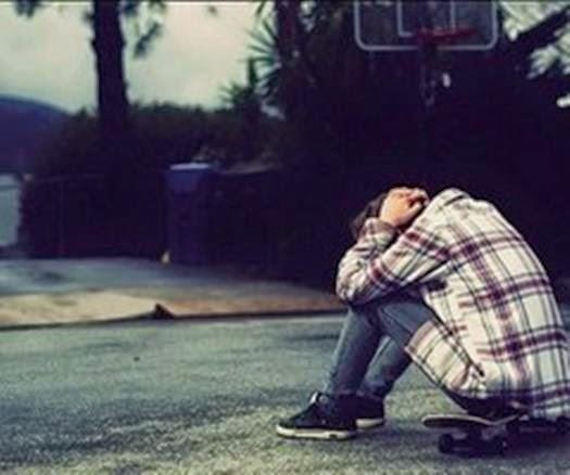 very sad boy in love