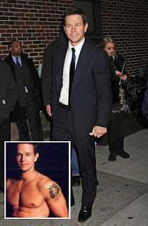 Mark Wahlberg Tattoo Removed