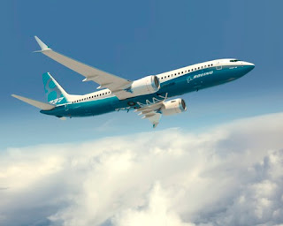 An artist rendering of the Boeing 737 MAX 8