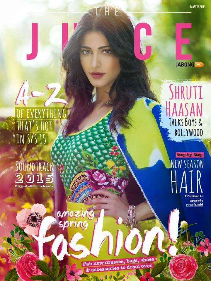 Film Actress @ Shruti Haasan - The Juice March 2015