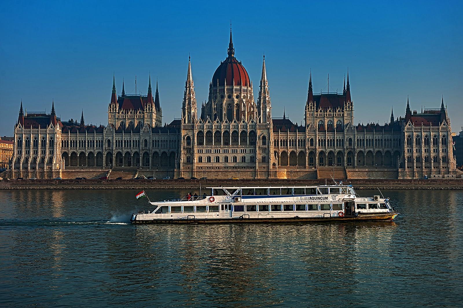 Budapest, Hungary, Danube, Parliament