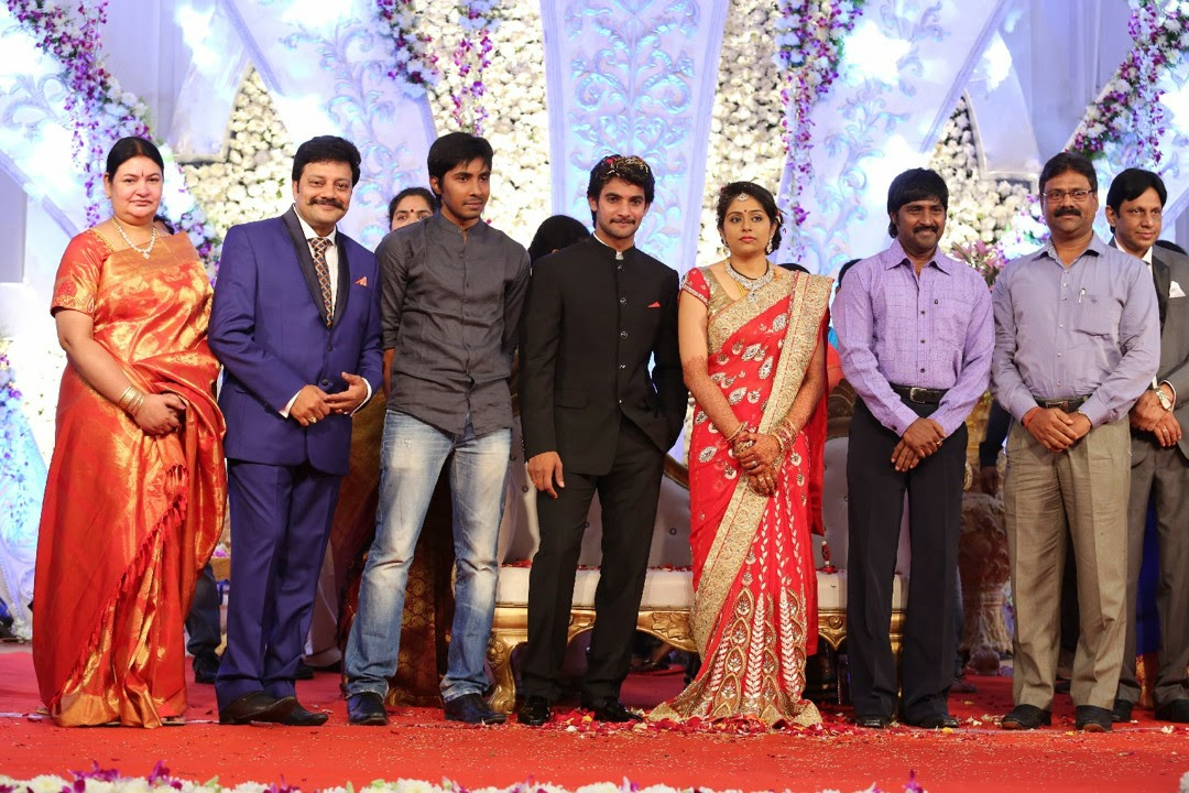 Aadi Aruna wedding reception photos-HQ-Photo-18