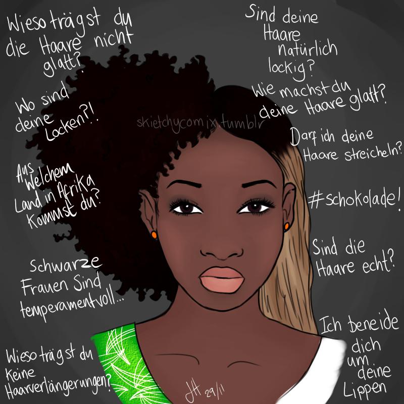 Afrodeutsche haare pflegen