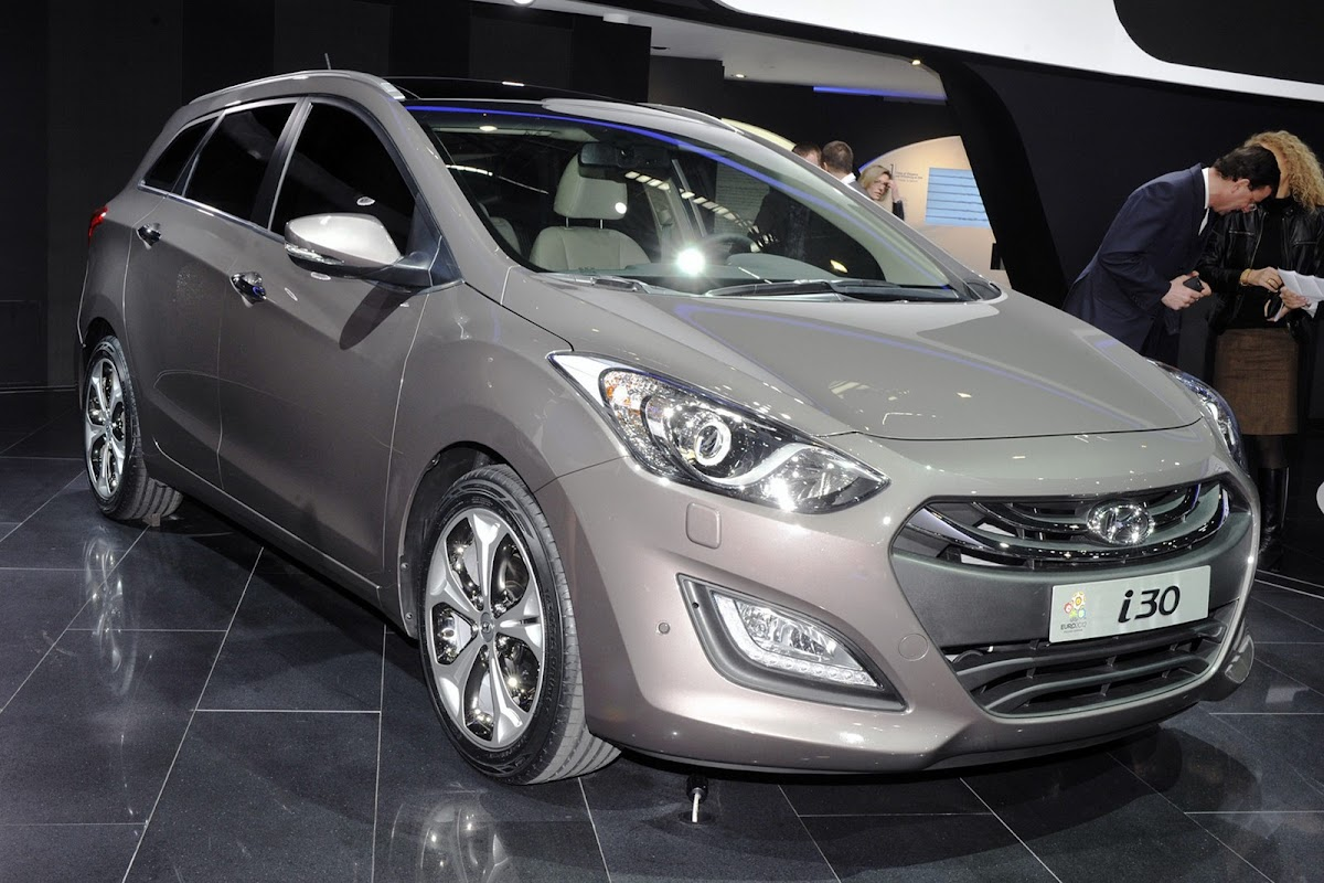Geneva 2012: 2013 Hyundai i30 Wagon