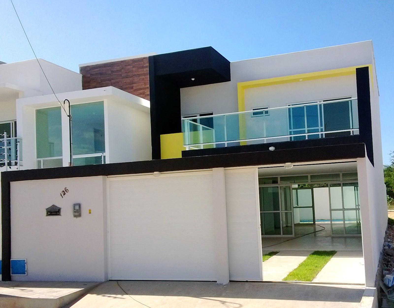 Rodrigo nogueira casa moderna finalizada for Casas duplex modernas