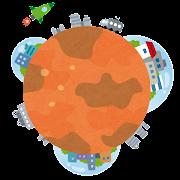 火星への移住のイラスト