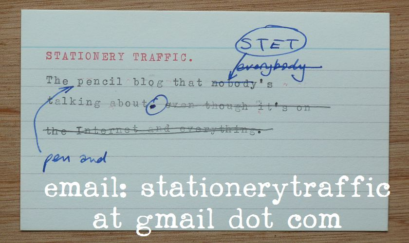 Stationery Traffic