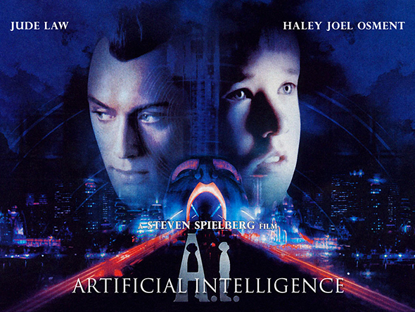 A.I Inteligencia artificial Lat/Ing + Sub 1080p Codec H.264 Mega A-i