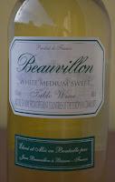 wino półsłodkie białe