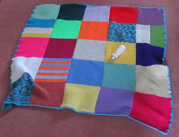 Battersea Dog Blanket Knitting Pattern : Great Grandmas Hotchpotch: WHAT A WEEK...